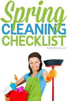 Use this handy spring cleaning checklist to get your home clean in no time!