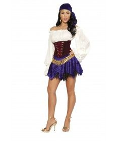 2014 gypsy Halloween costume  Find More: http://www.imaddictedtoyou.com