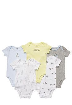 Carters® EDV 5-Pk Safari Bodysuit