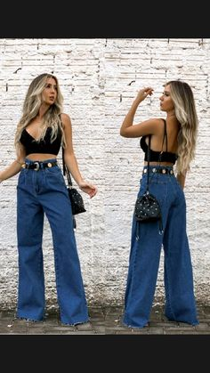 Fair Outfits, Boho Outfits, Fair Outfit Ideas, Denim Outfits, Fashion Pants, Look Fashion, Denim Outfit For Women, 70s Inspired Fashion, Selfies