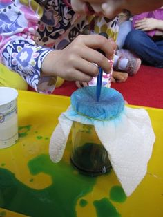 Exploring weather with a rain jar...
