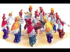 Bhangra, a folk dance form, is present with zest, enthusiasm and energy. Punjab Culture, Bhangra Dance, People Dancing, Folk Dance, Music Songs, Arts And Crafts, Indian, Costumes, Traditional