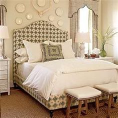 Padded Headboard & matching base -- cover the box spring?