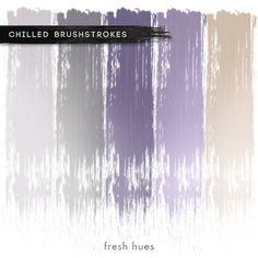 *brushstrokes* | fresh hues Purple Ice Cream