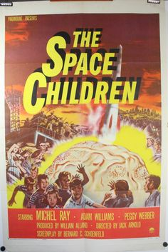 | the space children 1958 original vintage classic science fiction movie ...