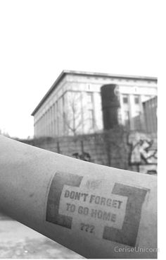 Berghain - Don't forget to go home