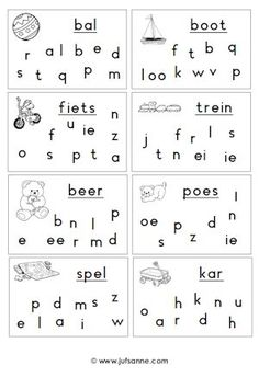 speelgoedletterzoeken Preschool Learning Activities, Preschool Worksheets, Toddler Preschool, Kids Learning, Worksheets For Grade 3, Home Schooling, Kids Education, Pre School, Homeschool