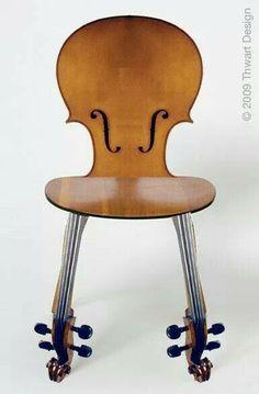 Chaise violon