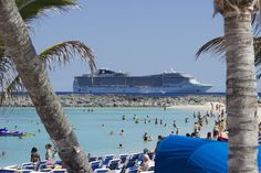 Fun for all at Great Stirrup Cay via MSC Divina.