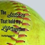 Even though its been two years since I've played softball, and I can't play anymore due to medical problems, softball will always be a huge part of my life and I would do anything to step on the field one more time in a uniform with my teammates Softball Chants, Softball Memes, Softball Problems, Baseball Quotes, Softball Players, Girls Softball, Fastpitch Softball, Softball Stuff, Softball Room