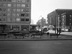 Boulevard de Maisonneuve et rue Guy [1976]