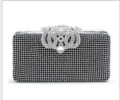 Grade A crystal Cosmetic bags evening bags