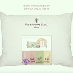 Get your #beauty rest with #sjal #skincare at #FourSeasonsAustin