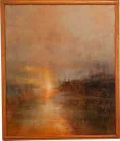 Sunset at Turner's Cove - Maurice Sapiro (Print)