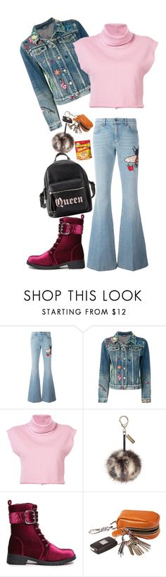 """Mid-Terms"" by cupkatyk ❤ liked on Polyvore featuring Gucci, daniel patrick, Forever 21 and Charlotte Russe"