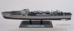 Tea and Tank: German Fast Attack Boat S-100 now in 1/144