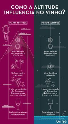 Entenda como a altitude influencia no vinho e, para aprender na prática, confira nossa seleção de pontuados! #wine #vinho #dica