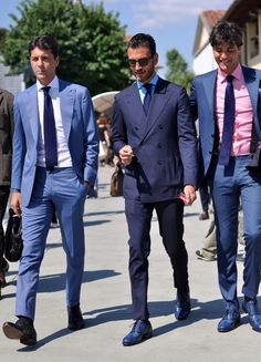 treviorum:  The Kiton boys at Pitti Uomo 86.