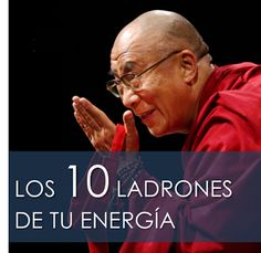 Energía en tus manos: 10 LADRONES DE TU ENERGÍA