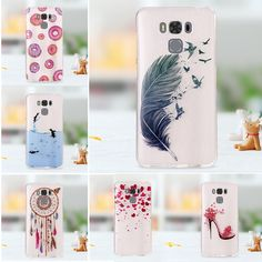 #AliExpress coque For Asus Zenfone 3 Max ZC553KL Case Pattern Printing IMD TPU Case Shell for Asus Zenfone 3 Max ZC553KL - Feather Pattern (32795691514) #SuperDeals
