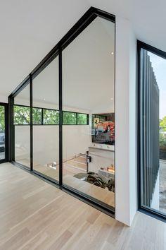 A Car Collector's Modern Residence by Matt Fajkus Architecture - Design Milk