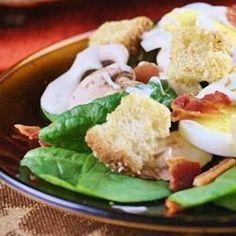 Spinach, Bacon, and Mushroom Salad - Allrecipes.com