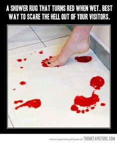 Brilliant Shower Rug…