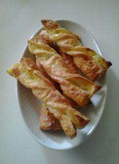 Lazos de crema para #Mycook http://www.mycook.es/receta/lazos-de-crema