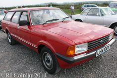 1982 Ford Cortina Mk V 1.6 L Estate, Summer Classics, Easter Compton,