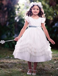 Alfred Angelo Bridal Style 721 from Flower Girl Dresses
