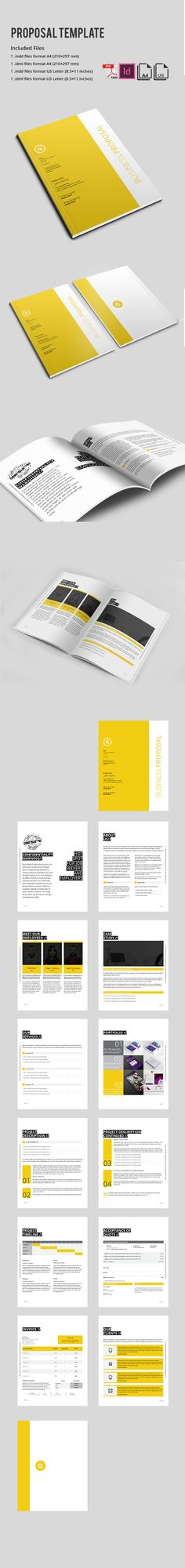 Sugercube Indesign Proposal Template For Business  Proposal