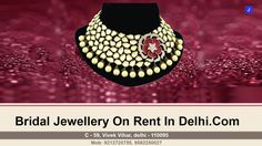 Bridal Jewellery On Rent In Delhi   Very Much Usefull Information