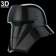 3D Printable Model: Tank Trooper black, Tanker, Driver Helmet from Rogue One: A Star Wars Story | Print File Formats: STL OBJ – Do3D.com