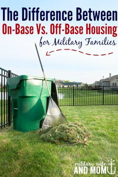 For military families the differences between on-base housing and off-base…