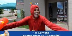 "O Corneta Homenageia o ""CHAPOLIN"" e os Vereadores saim Correndo… | TV PLANALTO"