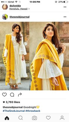 Latest trends in Beauty, Fashion, Indian outfit ideas, Wedding style on your mind? Pakistani Dresses, Indian Dresses, Indian Outfits, Kurta Designs, Blouse Designs, Sleeve Designs, Indian Attire, Indian Wear, Indian India