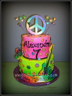 Sandra's Cakes: Rock Star birthday cake