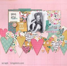 ⁣⁣You Are One of A Kind! A cute and adorable scrapbook layout by our awesome designer Sara (@sara.scraps) using our gorgeous September 2020 Kit ✂💯✂  The beauty of being a ScrapbookingStore.com Club Member is that your kits will arrive each month at your doorstep - no store visits needed!💝⁣  #scrapbookingstore #iam2020 #scrapbooklayout #scrapbookingkits #papercraft #scrapbooking #cardmaking