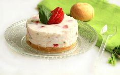 Cheesecake fraise-basilic original