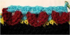 Crocodile stitch tutorial - Stitches 'N' Scraps
