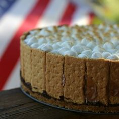 S'mores Ice Cream Cake - 365ish Days of Pinterest