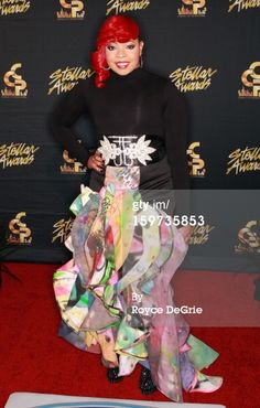 Alexis Spight arrives to the 28th Annual Stellar Awards at Grand Ole Opry House on January 19, 2013 in Nashville, Tennessee.