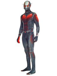 Marvel Ant-Man Morphsuit Lizenzware schwarz-rot, aus unserer Kategorie Superheldenkostüme. Ant-Man, auch bekannt unter seinem bürgerlichen Namen Scott Lang, ist ein ganz besonderer Superheld aus dem Marvel Universum. Denn der Avenger kann nicht nur schrumpfen, sondern auch zu riesenhafter Größe heranwachsen, was er in Captain America: Civil War eindrucksvoll unter Beweis gestellt hat. Ein großartiges Kostüm für Karneval, Comic-Events und Mottopartys.