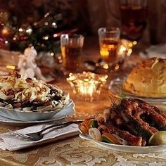 Wigilia is the traditional Christmas Eve vigil supper in Poland, held on December Most magical night if the year Yule, Polish Christmas Traditions, Russian Cookies, Polish Recipes, Polish Food, Polish Wedding, Great Recipes, Favorite Recipes, Bangers And Mash
