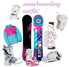 """""""snowboarding"""" by robison5 on Polyvore"""