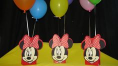 Minnie Mouse Party Centerpiece by DreamComeTrueParties on Etsy