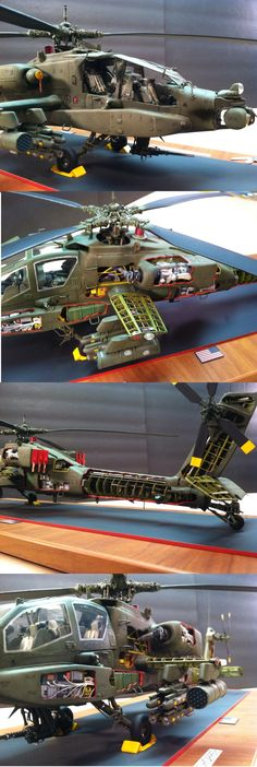 Most detailed Apache helicopter Ive ever seen.
