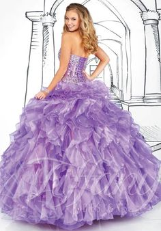 Tiffany prom dress 16909