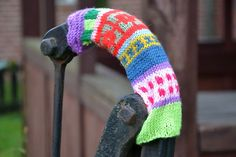 Water pump with a knitted coat