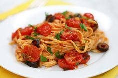 Homemade Pasta Puttanesca Recipe